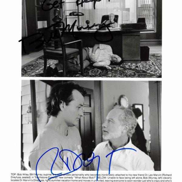 Bill Murray & Richard Dreyfuss - autogram