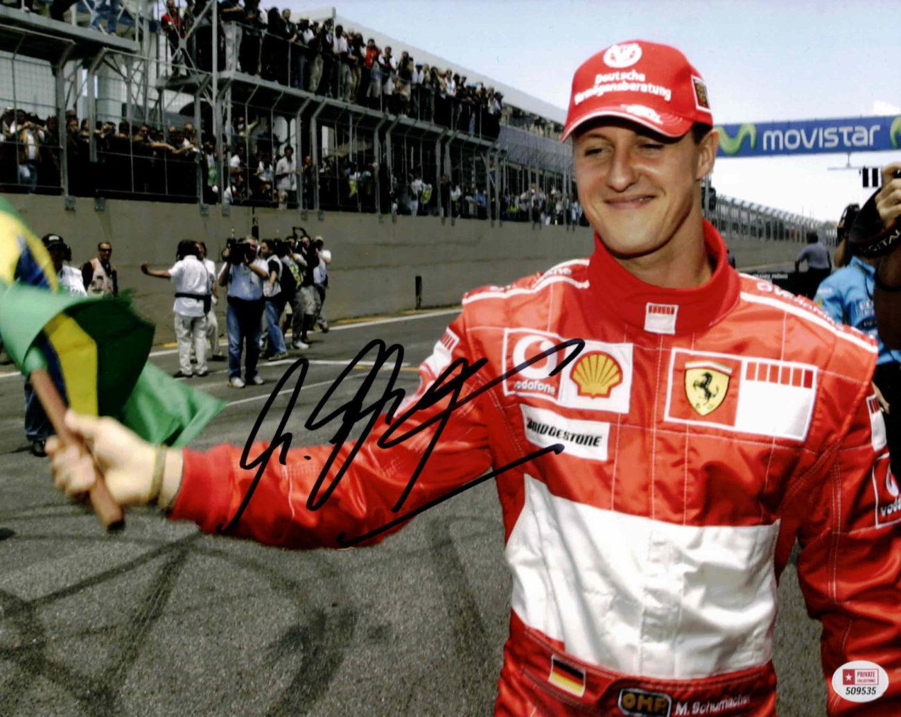 Michael Schumacher - autogram