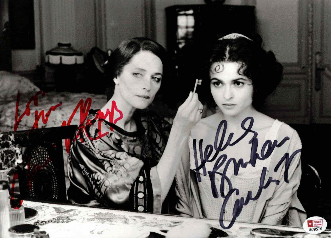 Helena Bonham Carter & Charlotte Rampling