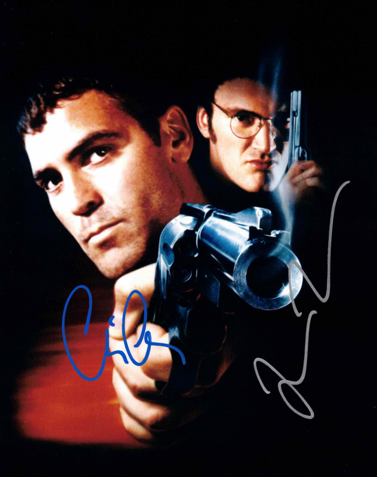George Clooney & Quentin Tarantino - autogram