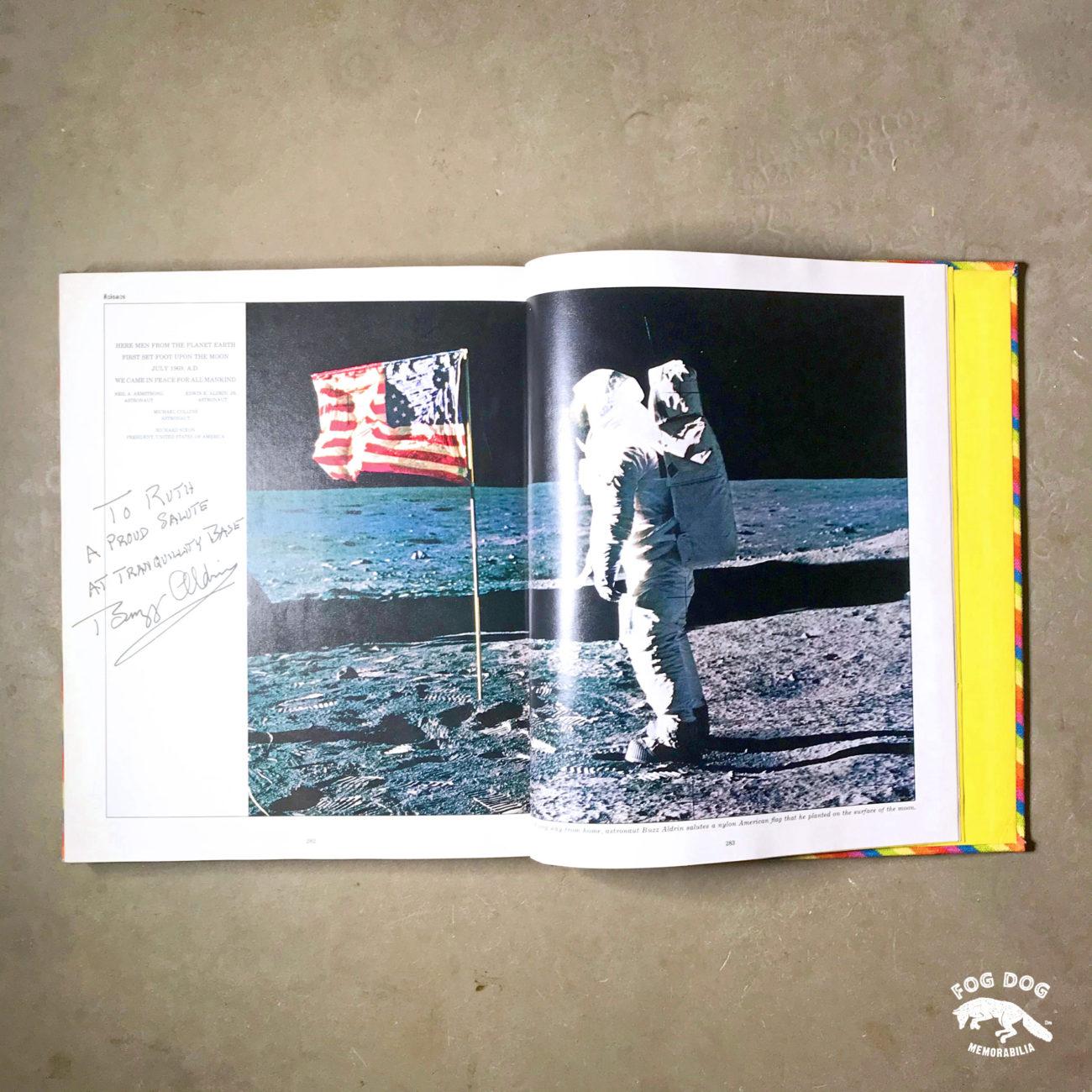 Autogram / Buzz Aldrin - 2. člověk na Měsíci