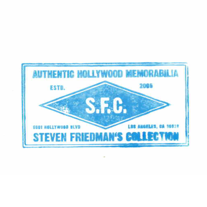 Steven Spielberg - autogram
