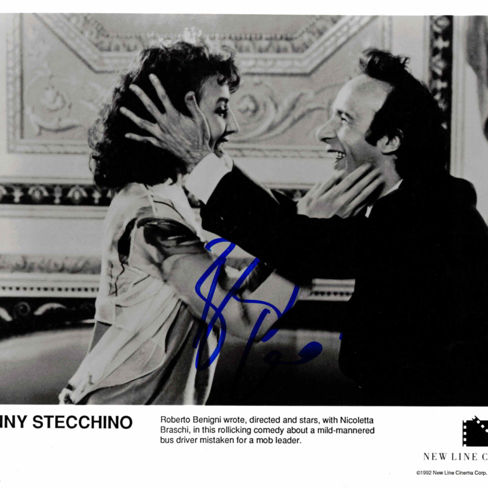 Roberto Benigni - autogram
