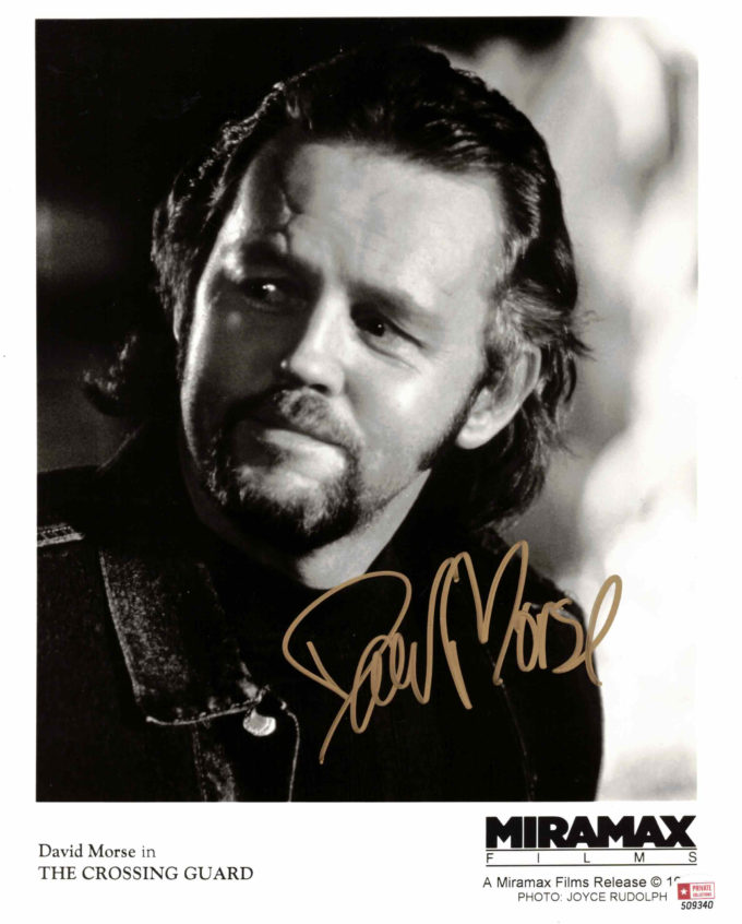 David Morse - autogram