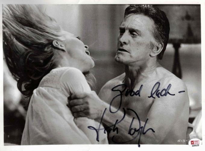 Kirk Douglas - autogram