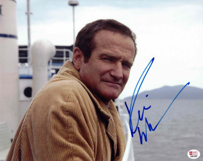 Robin Williams - autogram