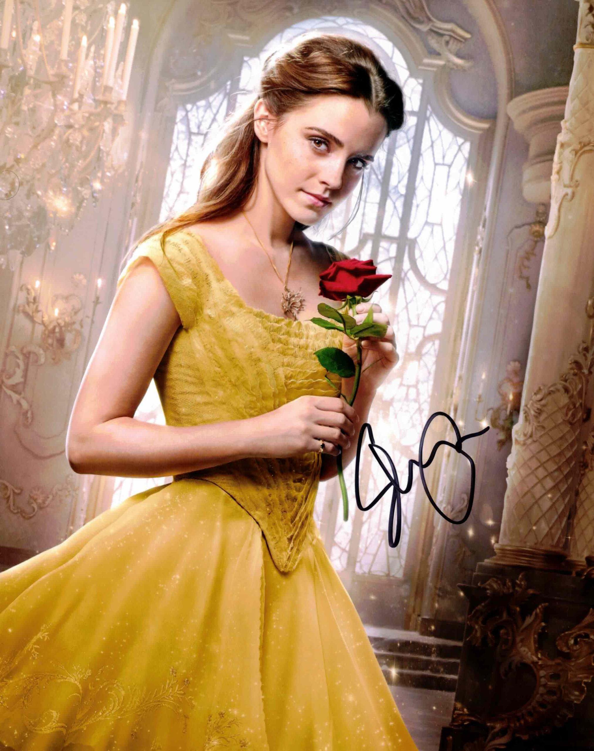 Emma Watson / Kráska a zvíře - autogram