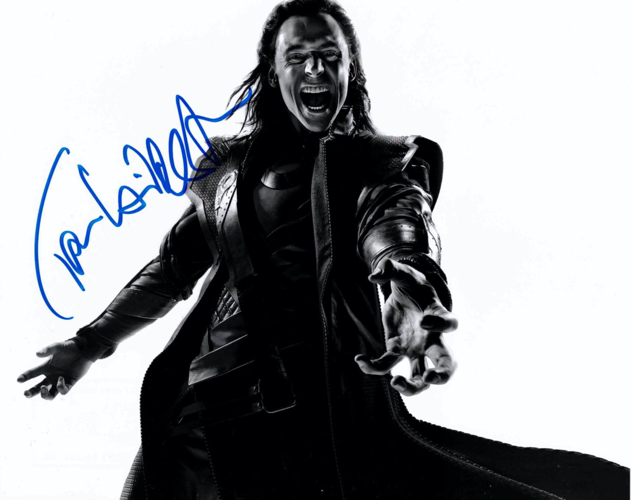 Tom Hiddleston - autogram