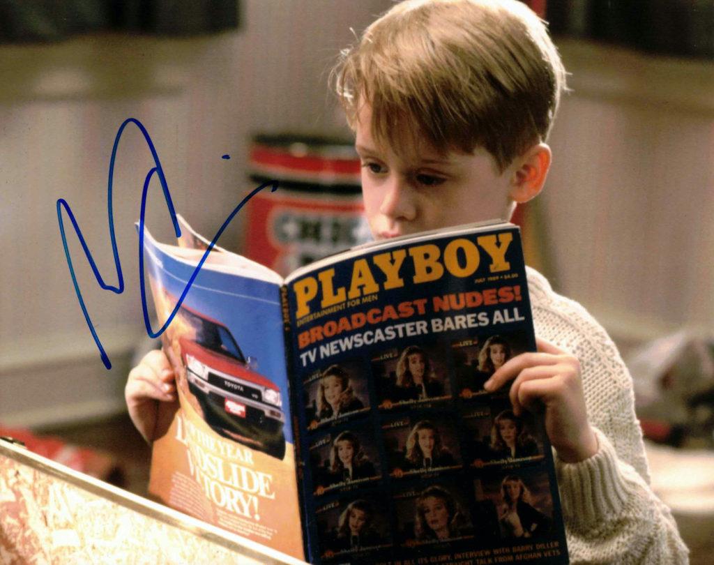 Macaulay Culkin / Sám doma - autogram