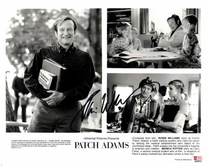 Robin Williams - autogram