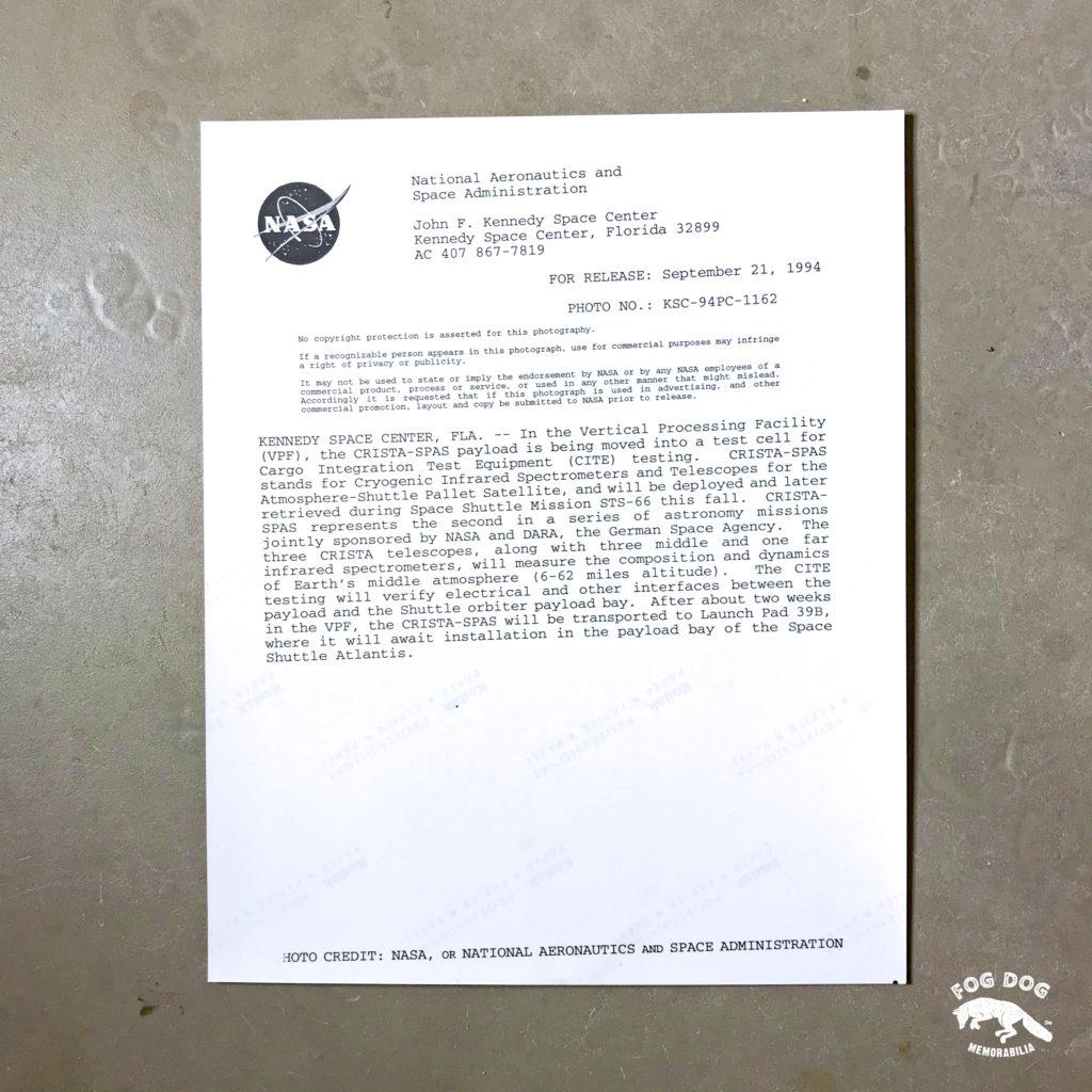 Oficiální fotografie NASA (1993)