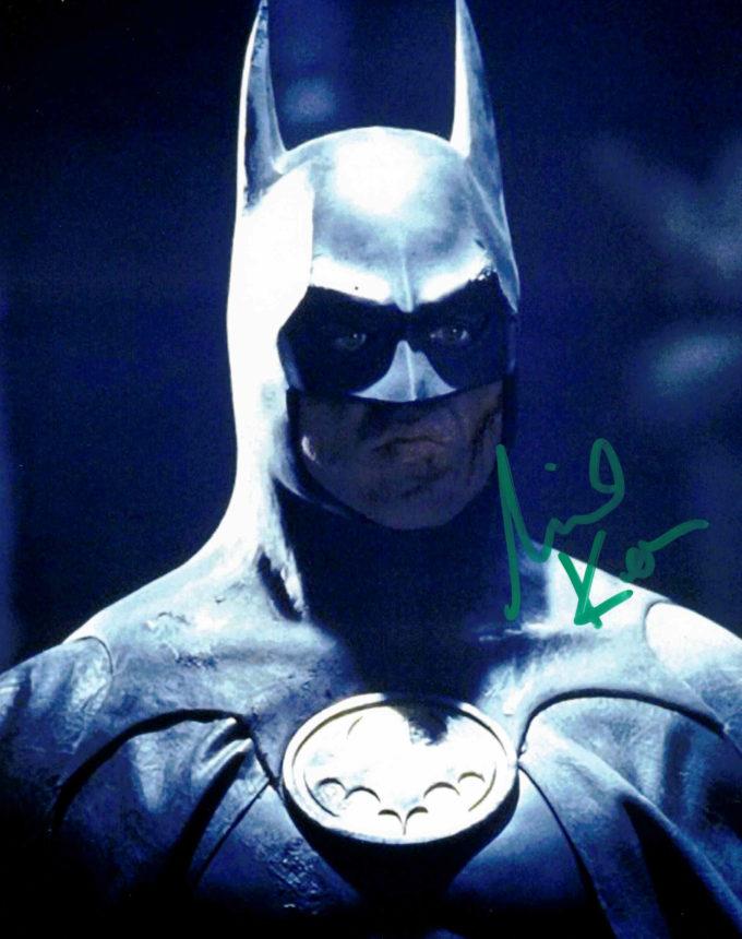Michael Keaton / Batman - autogram