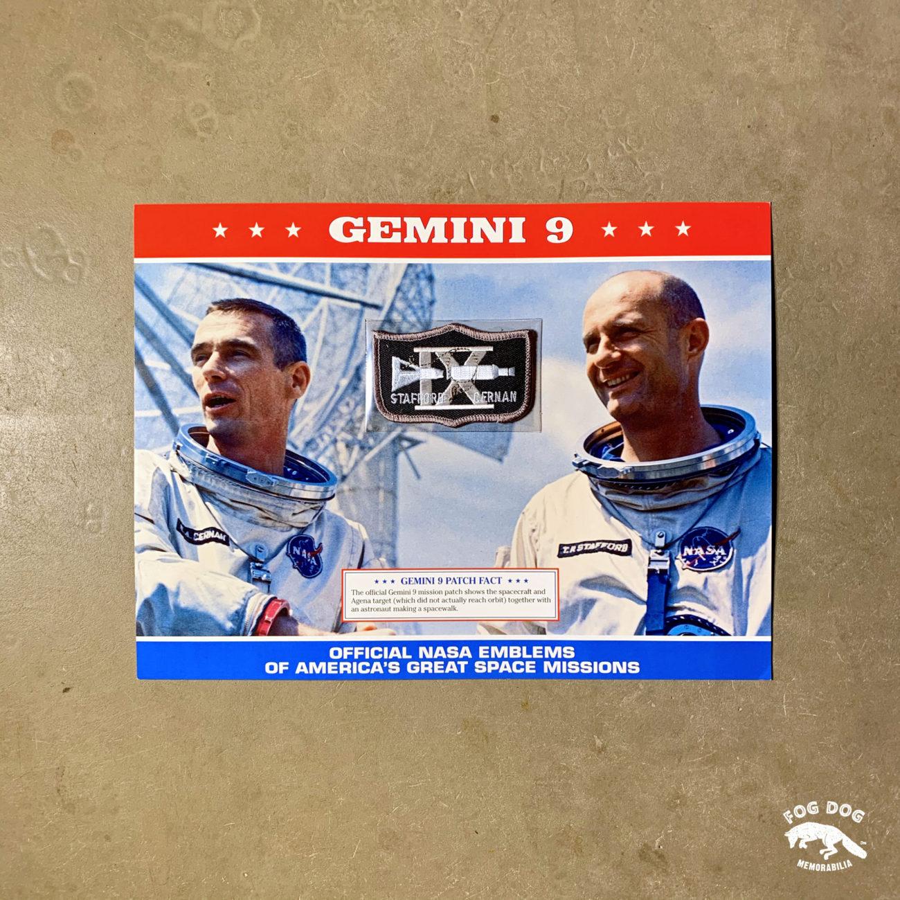 Oficiální textilní nášivka NASA - GEMINI 9