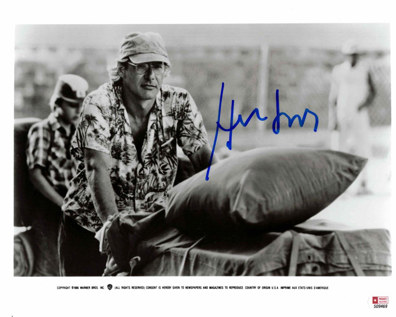 Harrison Ford - autogram
