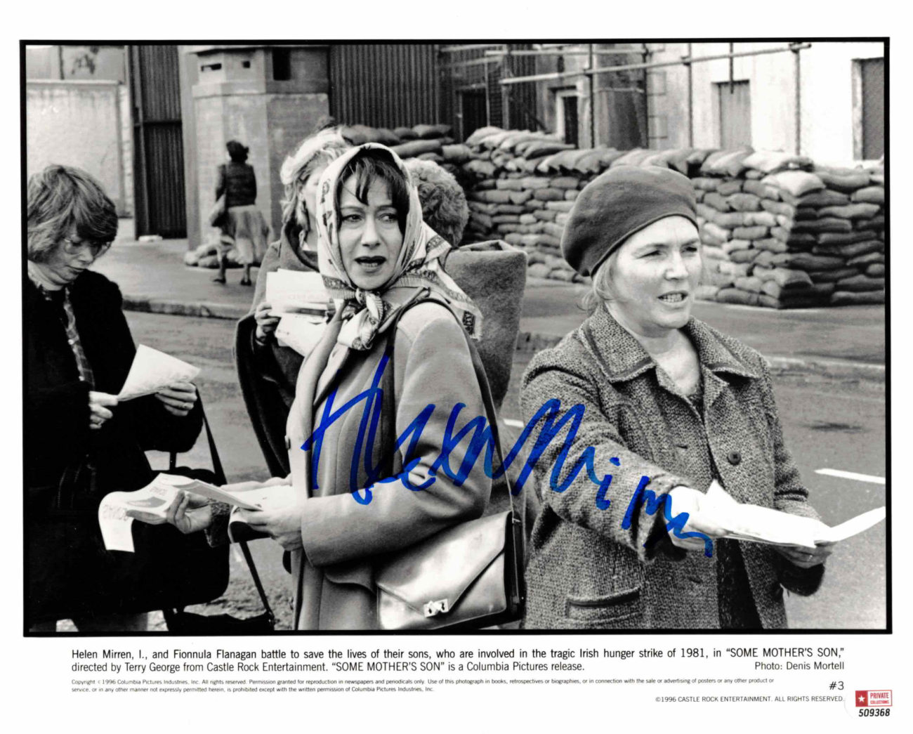 Helen Mirren - autogram