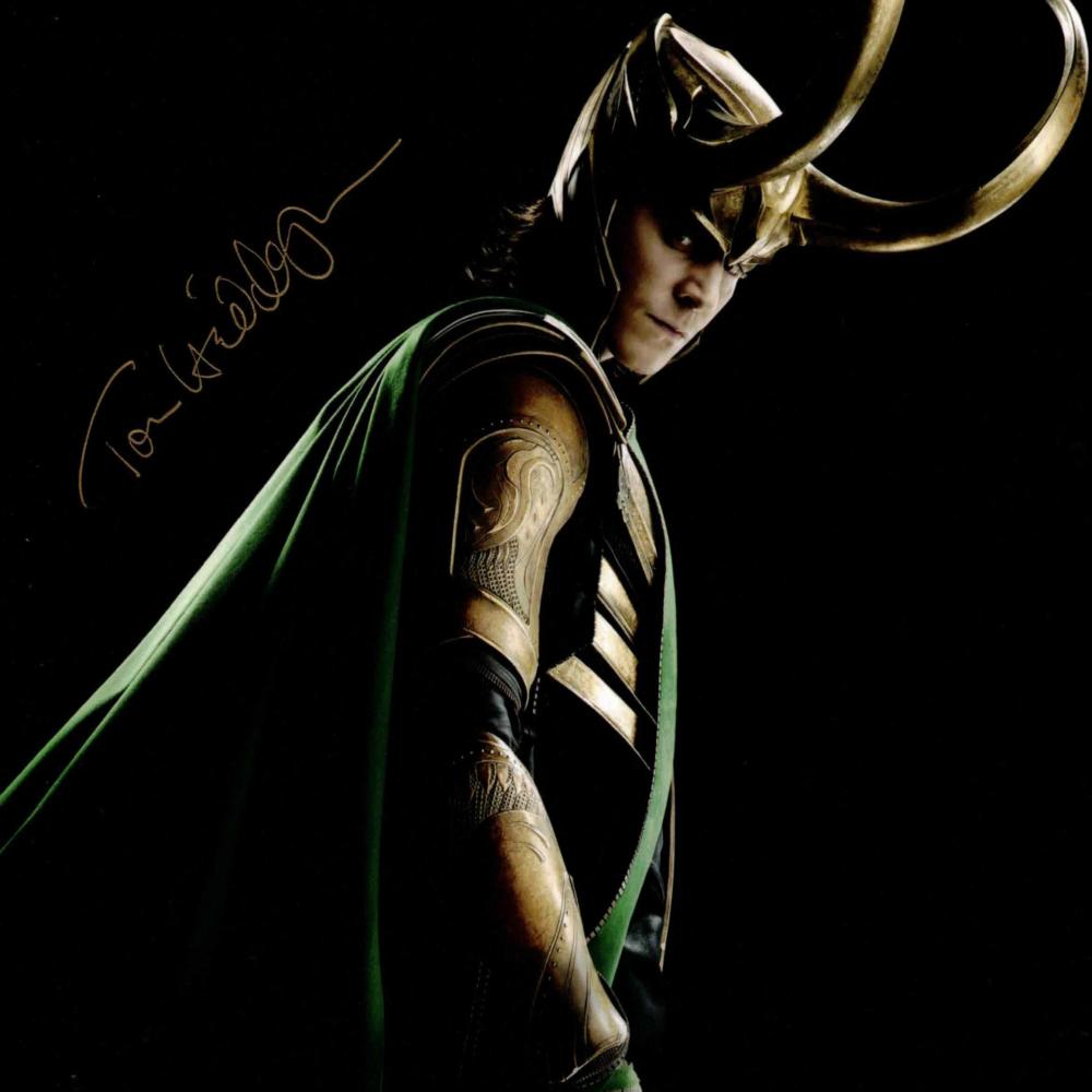 Tom Hiddleston - autogram