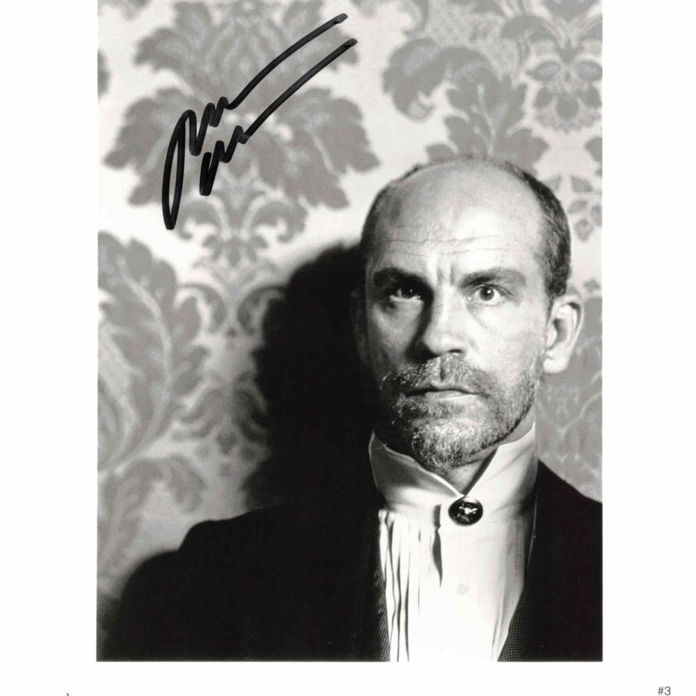 John Malkovich - autogram