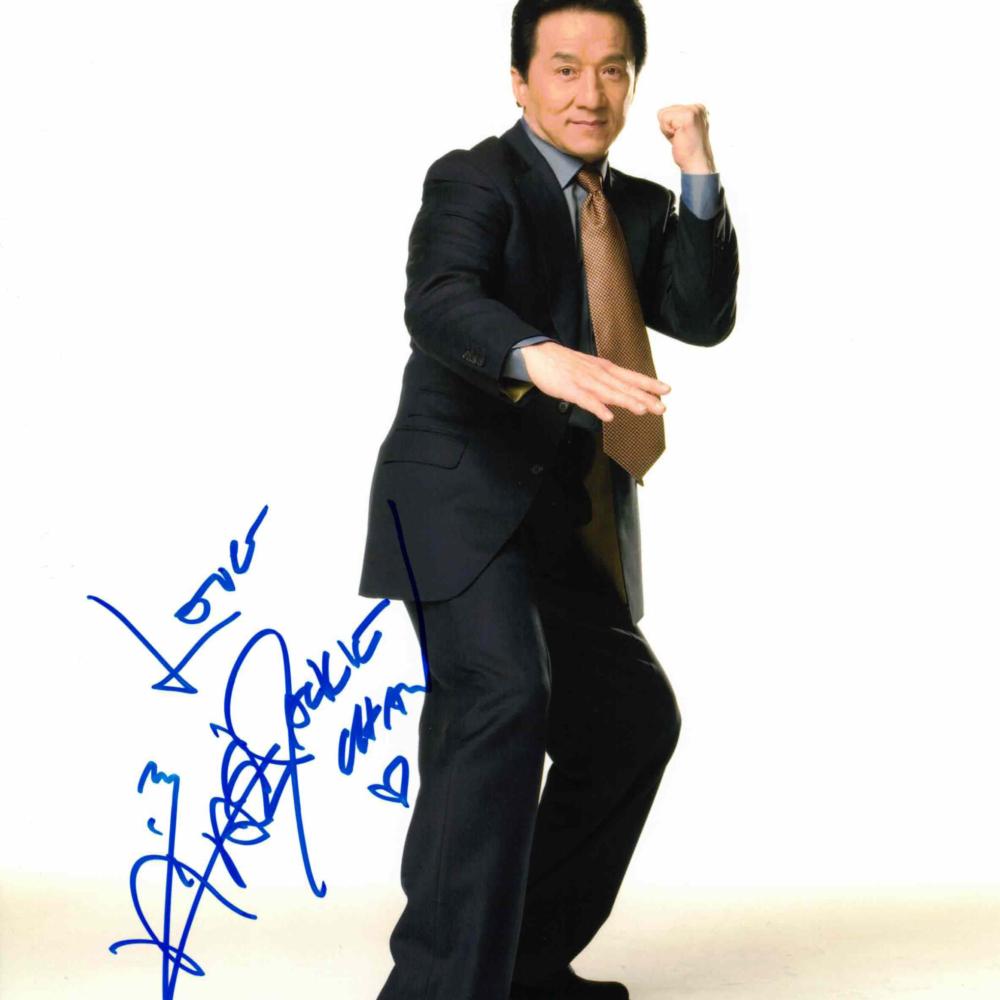 Jackie Chan - autogram