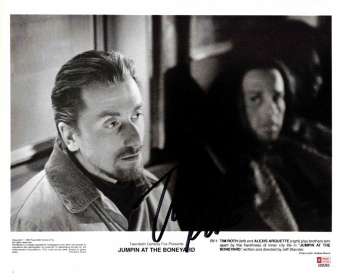 Tim Roth - autogram