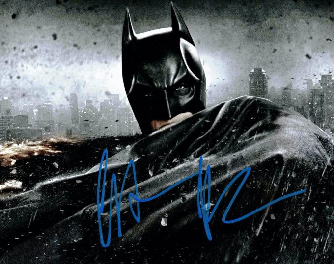 Christian Bale / Batman - autogram