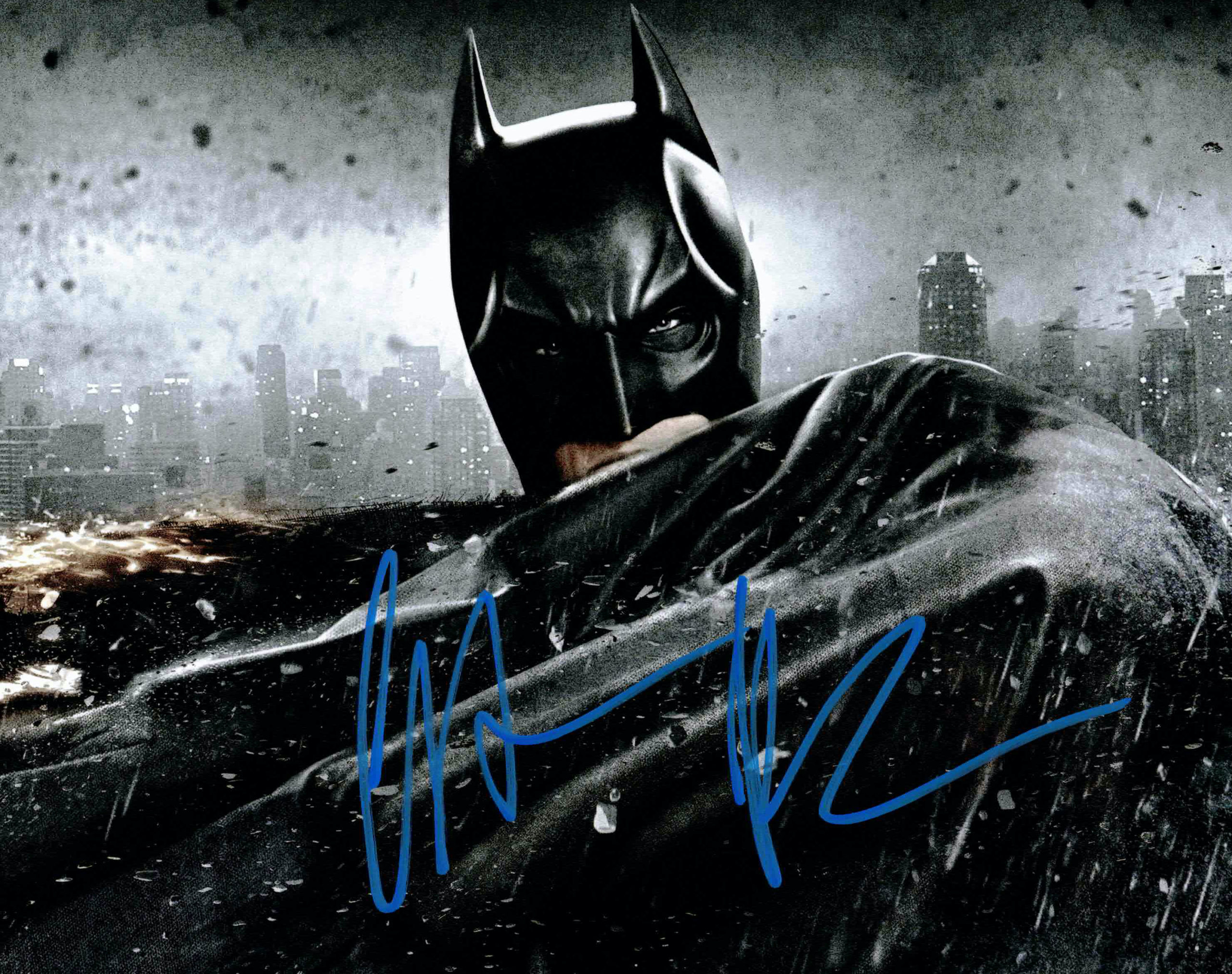 Christian Bale / Batman - autogram