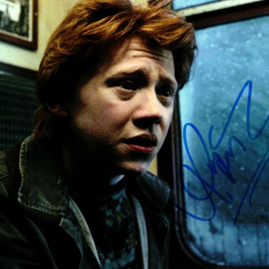 Rupert Grint / Ron Weasley, Harry Potter - autogram