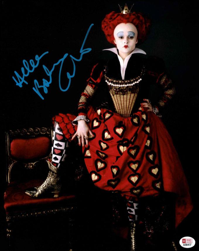 Helena Bonham Carter - autogram