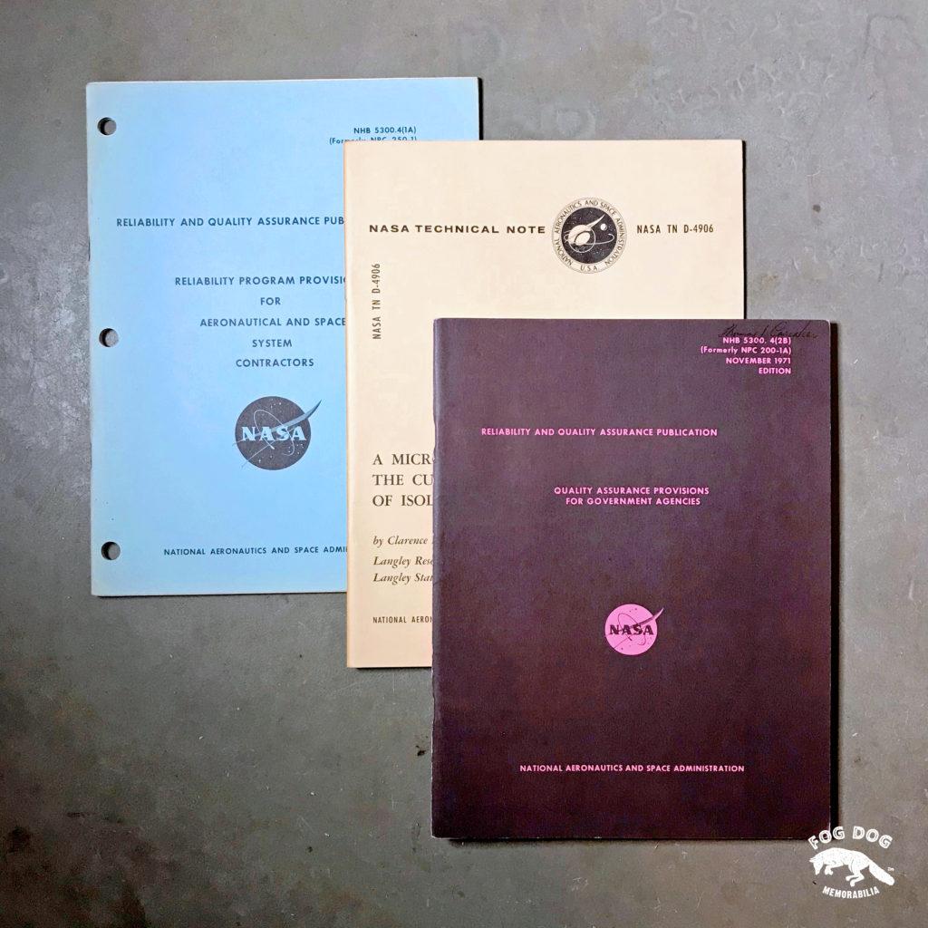 Brožury NASA - 3 ks (1970-1971)