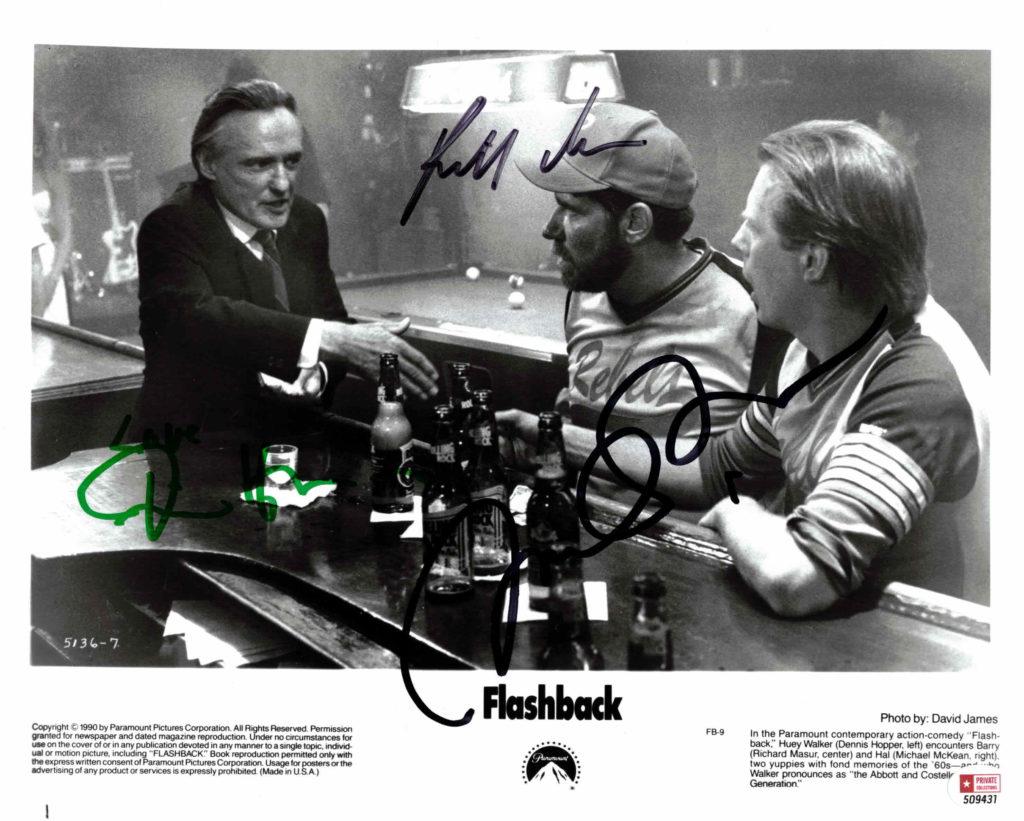 Dennis Hopper, Michael McKean & Richard Masur - autogram