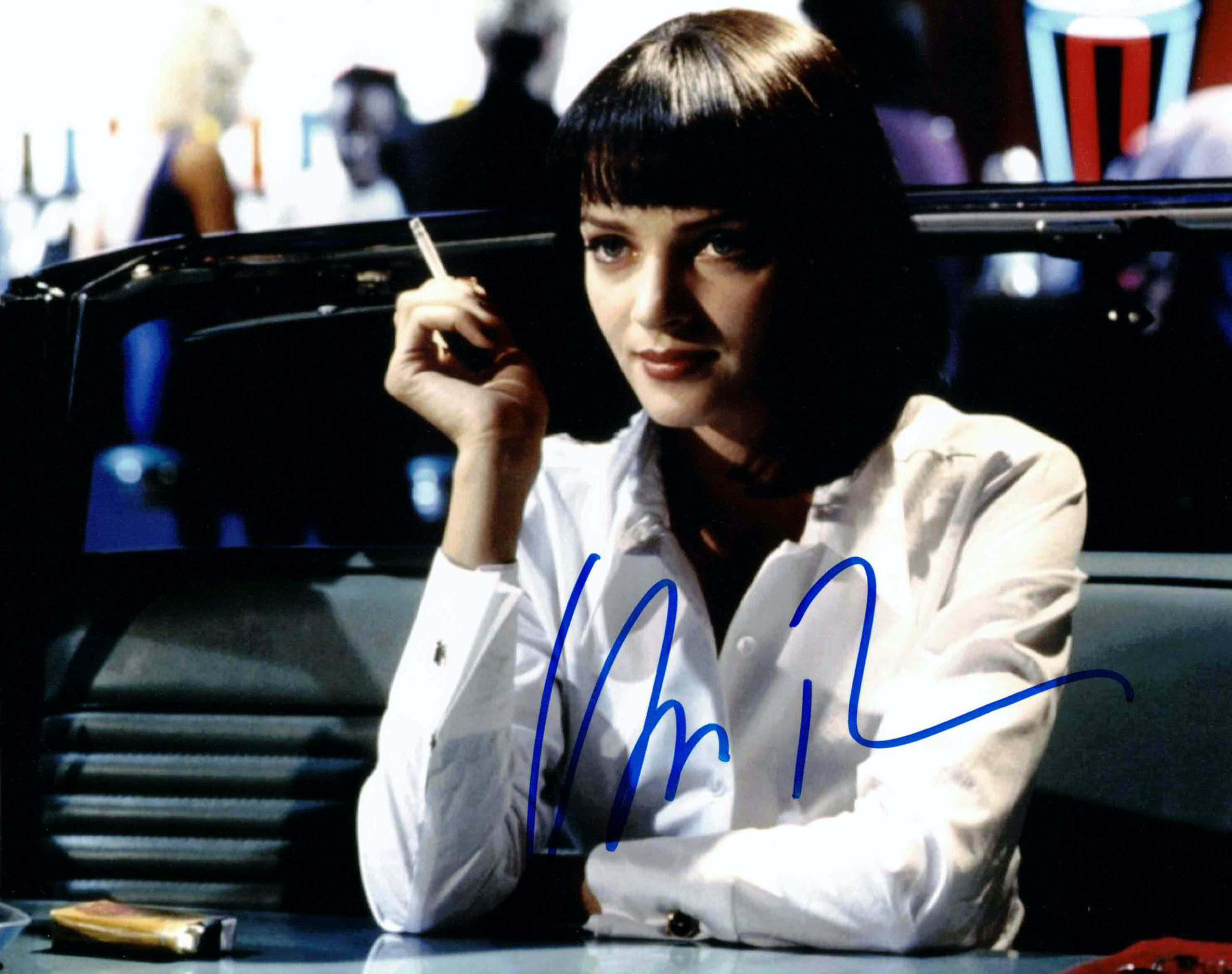Uma Thurman / Pulp fiction - autogram