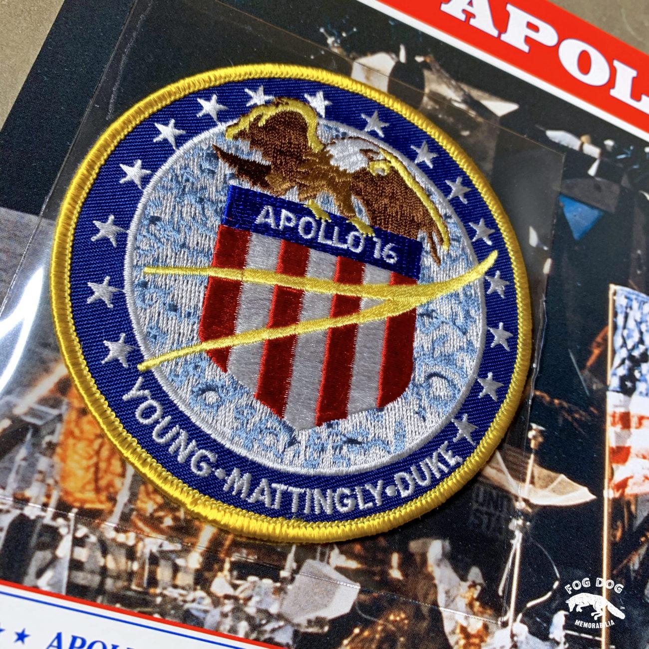 Oficiální textilní nášivka NASA - APOLLO XVI