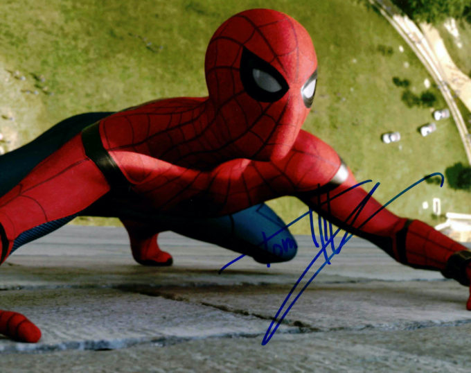 Tom Holland / Spider-Man - autogram