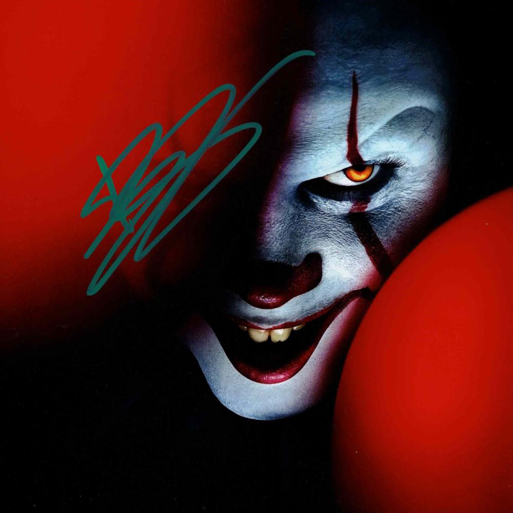 Bill Skarsg?rd / IT - autogram