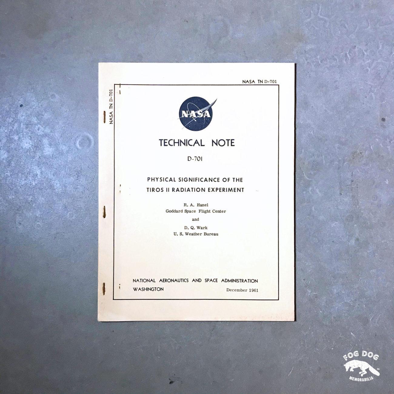 NASA Technical Note (1961)