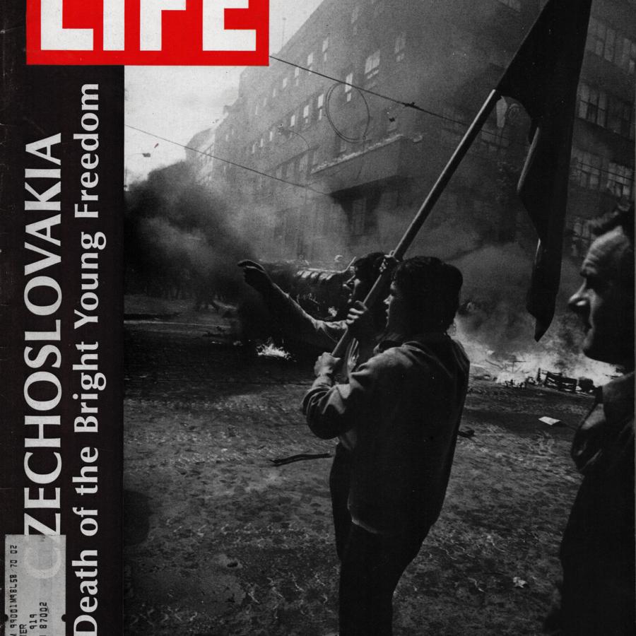 Magazín LIFE (1968) - invaze vojsk do Československa v sprnu 1968