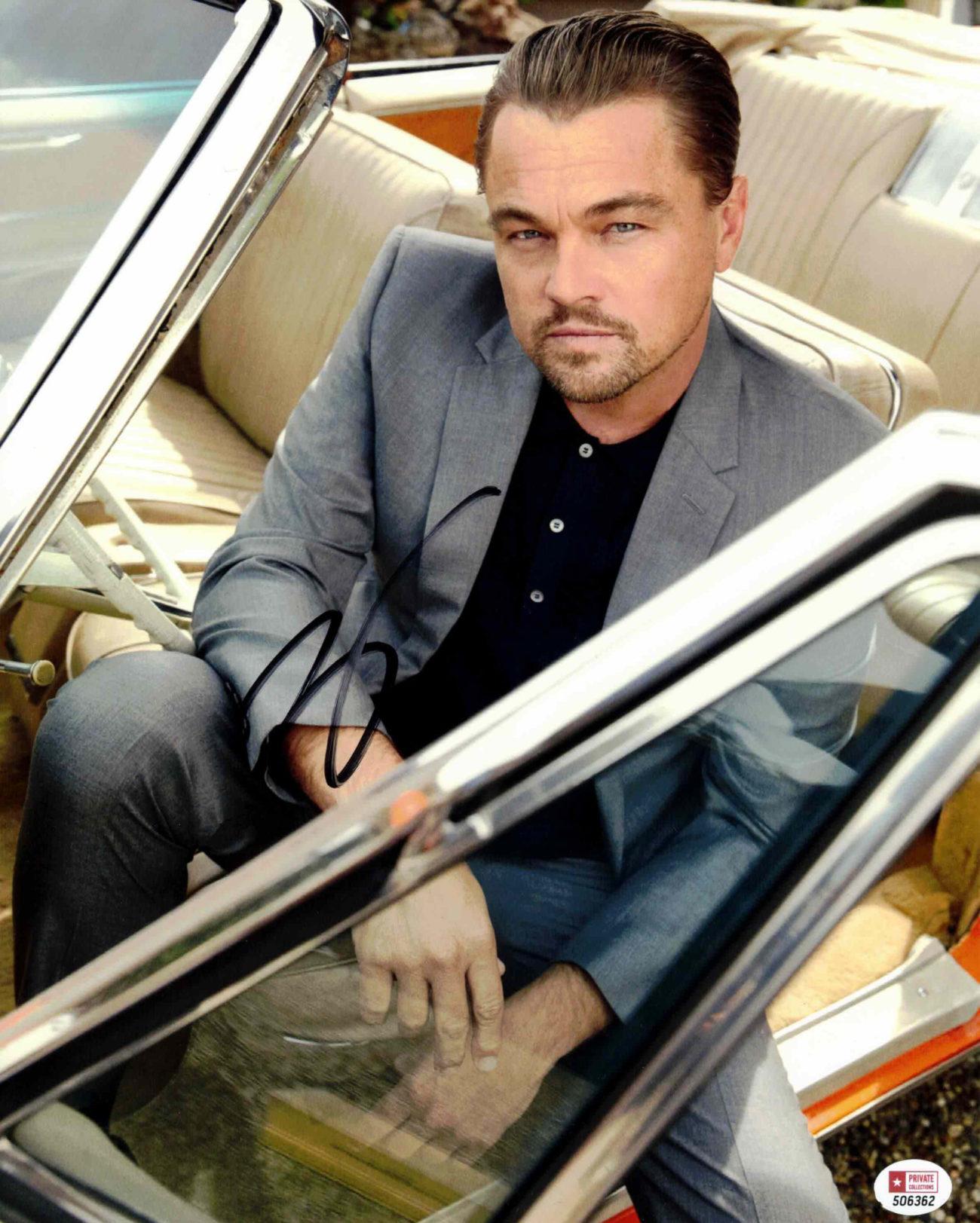 Leonardo DiCaprio - autogram