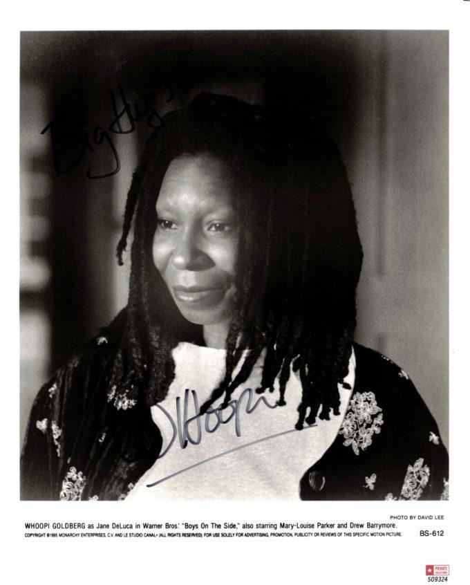 Whoopi Goldberg - autogram