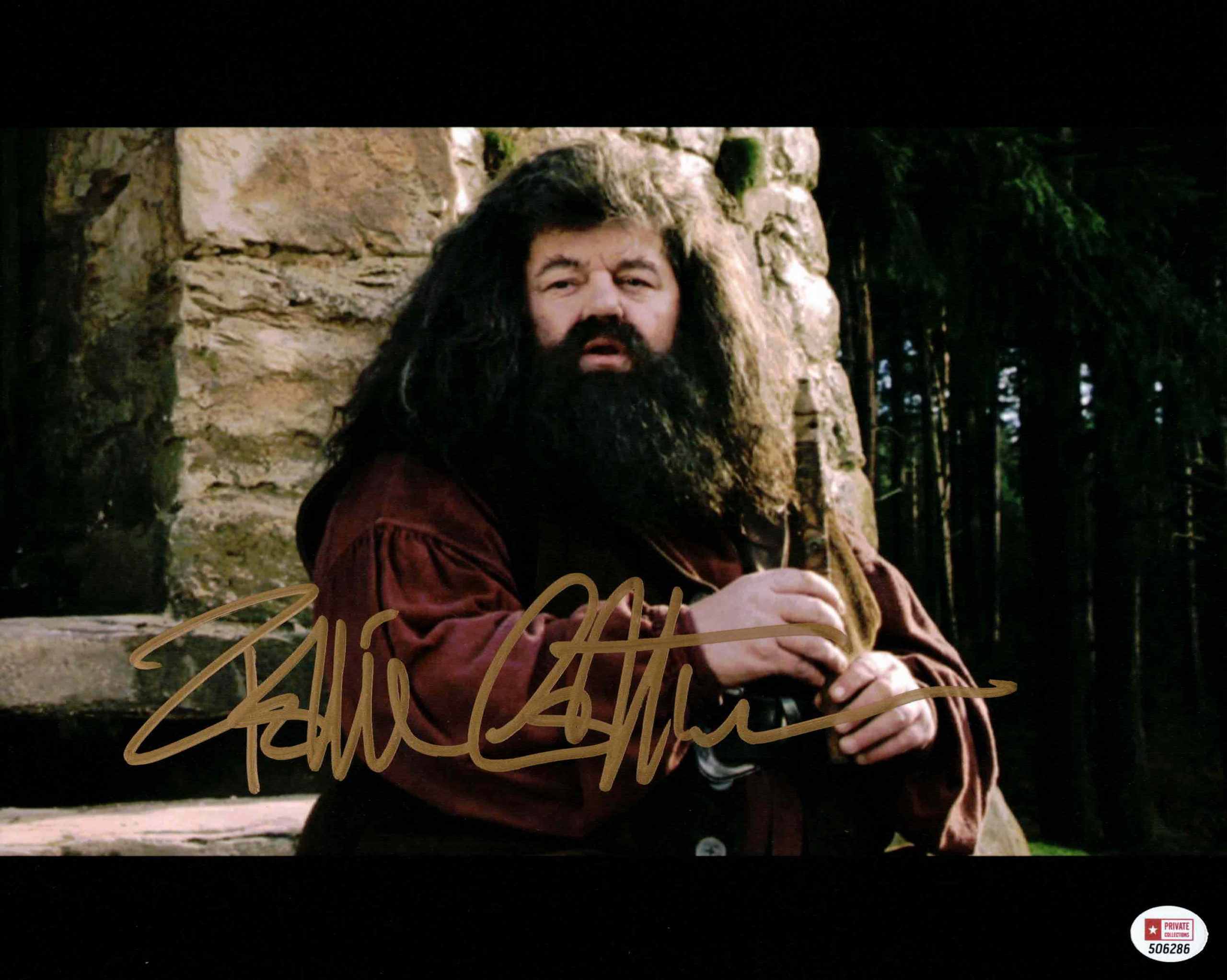 Robbie Coltrane / Hagrid, Harry Potter - autogram