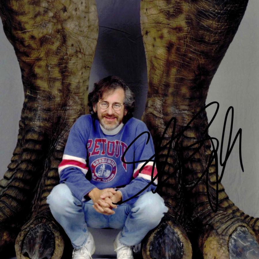 Steven Spielberg / Jurassic Park - autogram