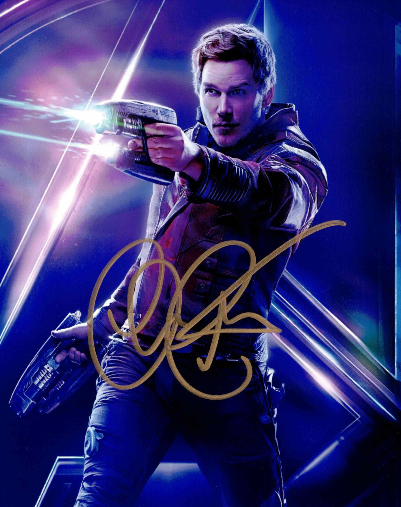 Chris Pratt / Avengers - autogram