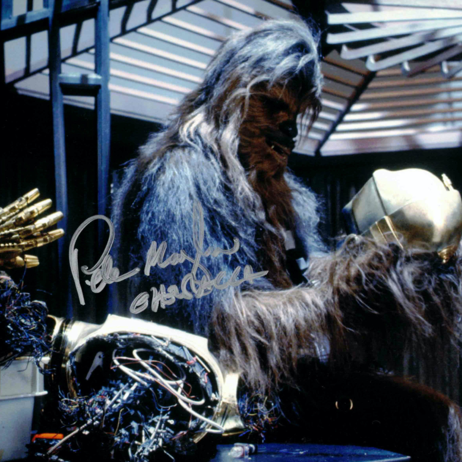 Peter Mayhew / Chewbacca, Star Wars - autogram