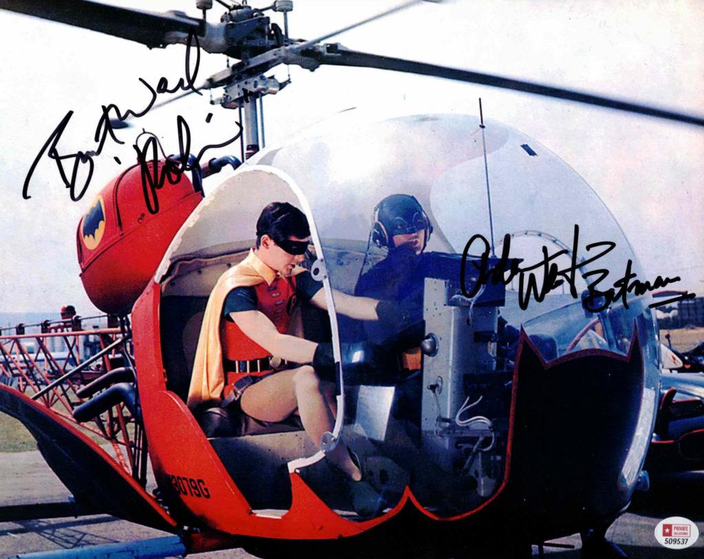 Adam West & Burt Ward / BATMAN - autogram