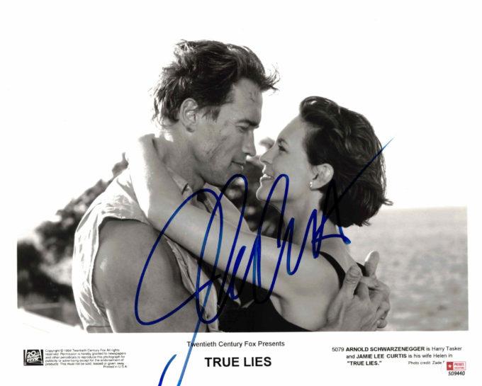 Jamie Lee Curtis - autogram