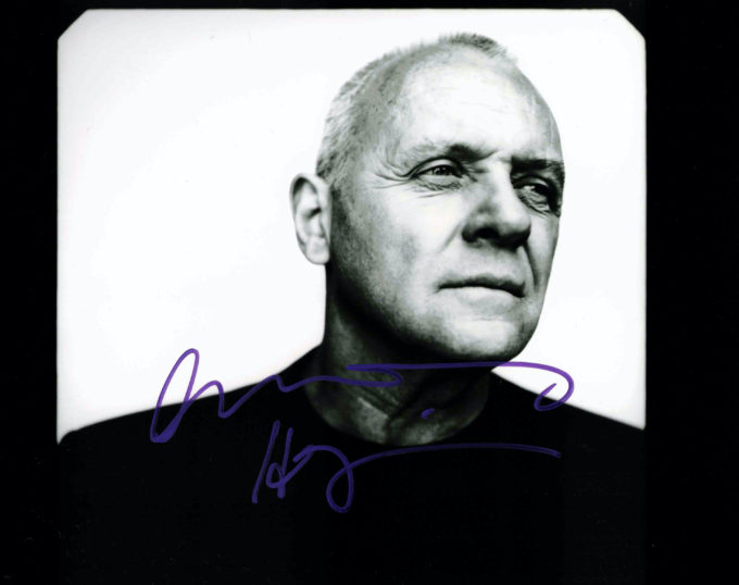 Anthony Hopkins - autogram