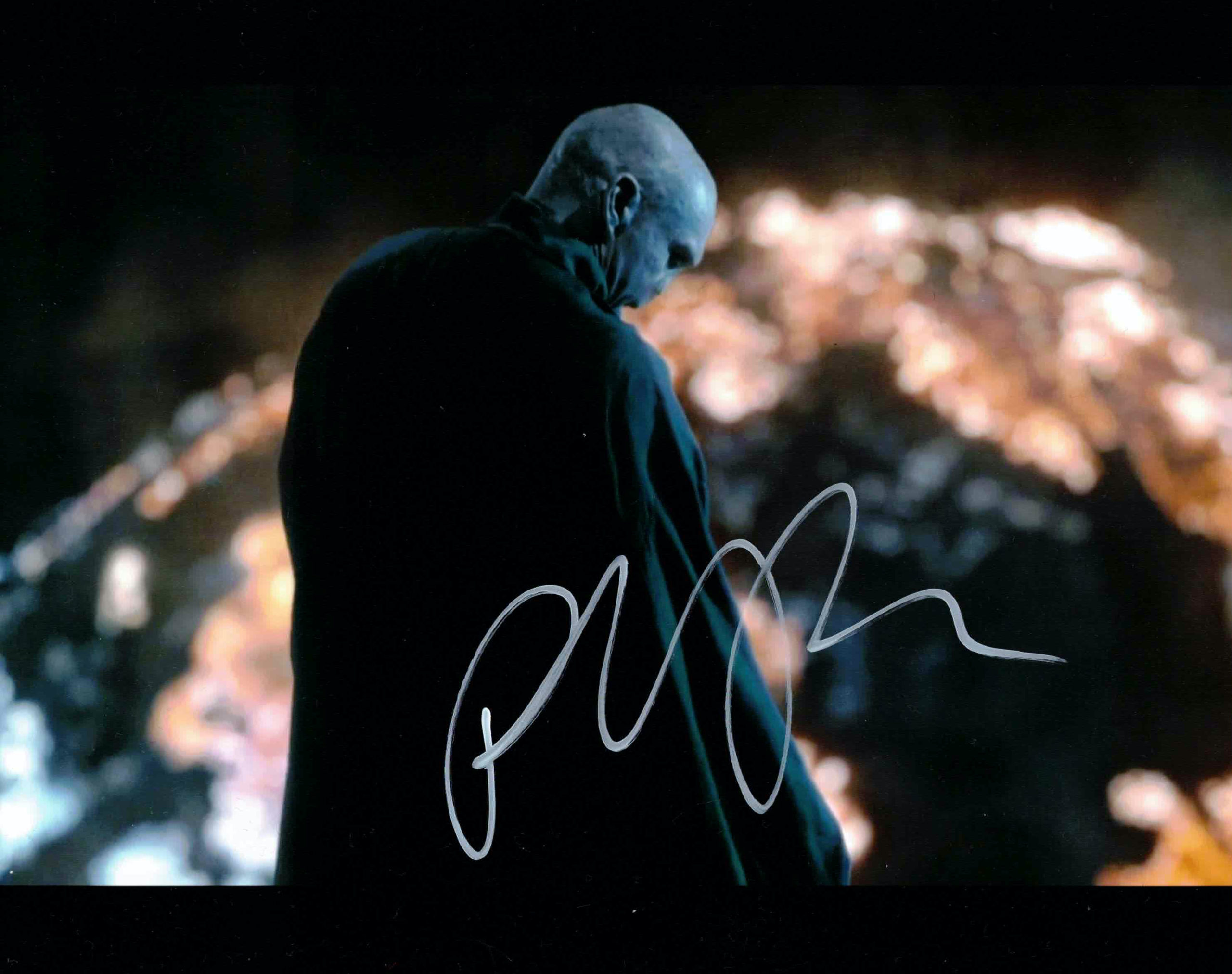 Ralph Fiennes / Lord Voldemort, Harry Potter - autogram