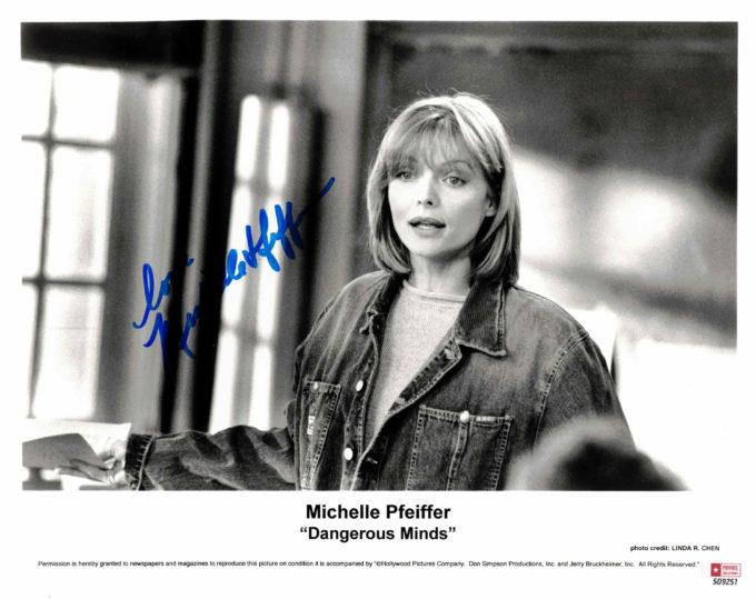 Michelle Pfeiffer - autogram