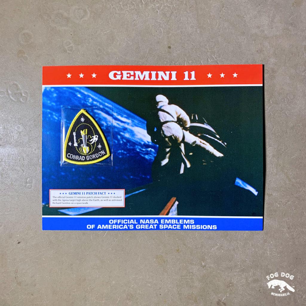 Oficiální textilní nášivka NASA - GEMINI 11