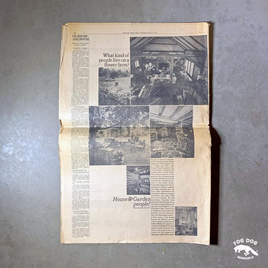 Vydání novin z 17.7.1969 - NEW YORK TIMES