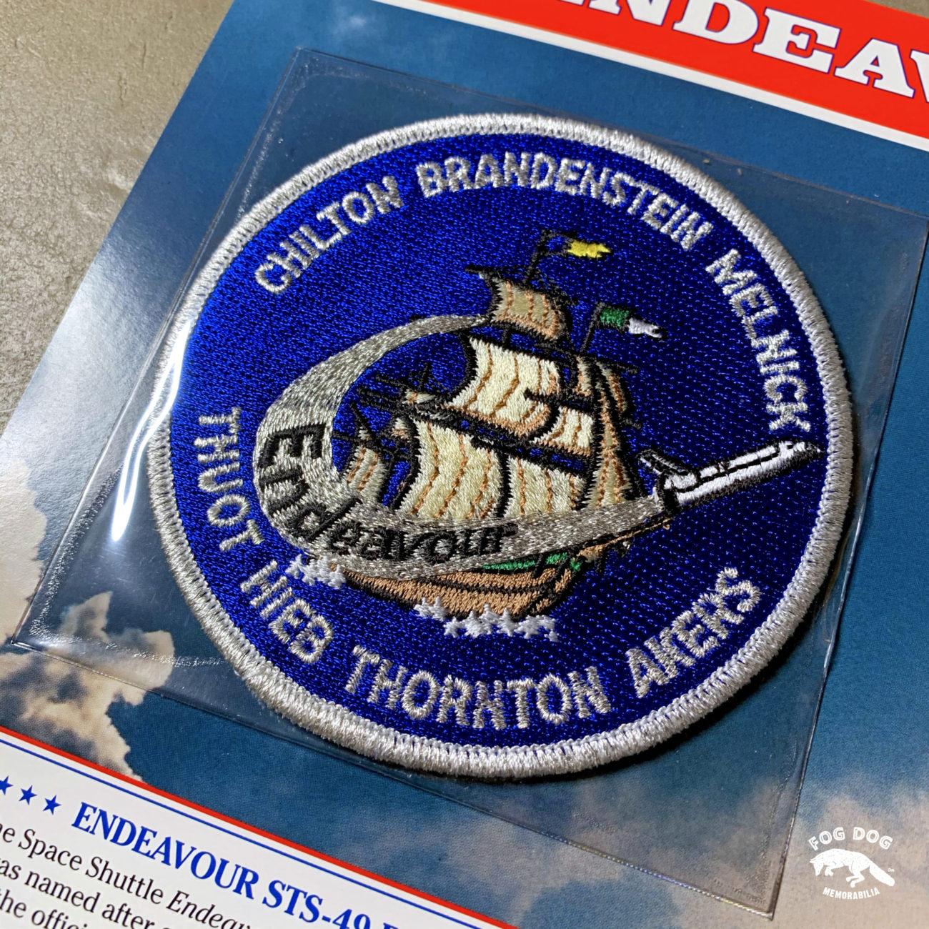 Oficiální textilní nášivka NASA - ENDEAVOUR STS-49