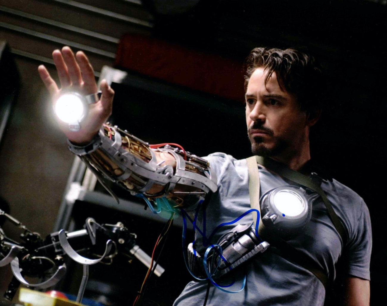Robert Downey Jr. / Iron Man - autogram